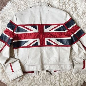 British flag 🇬🇧 Leather jacket